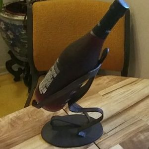 Man Wine Bottle Holder SZ-10.5 inches tall